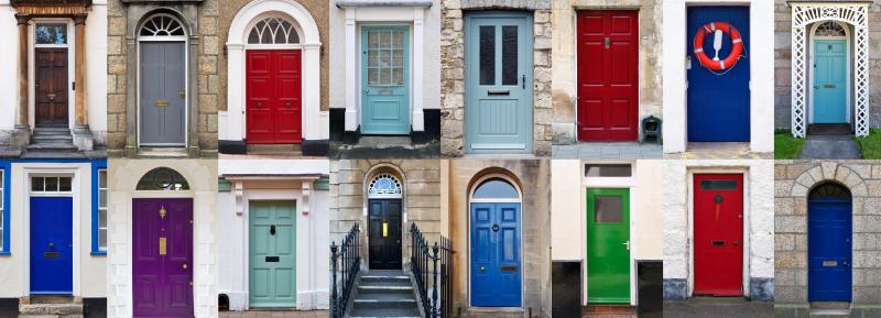 ¡Muchos colores para escoger! Foto: goldpaintinginc.com